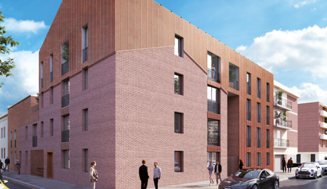 À Toulouse, quartier des Minimes, nouvelle résidence neuve signée Edouard Denis