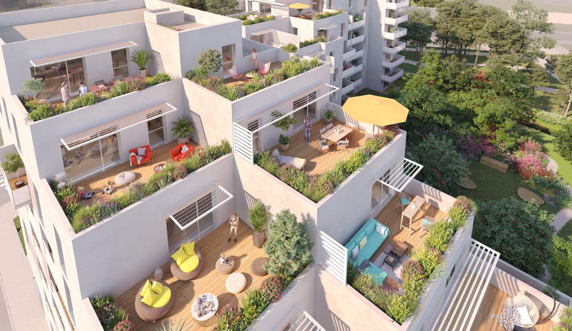 «Les Terrasses du Touch», le nouveau programme immobilier neuf à Saint-Martin-du-Touch