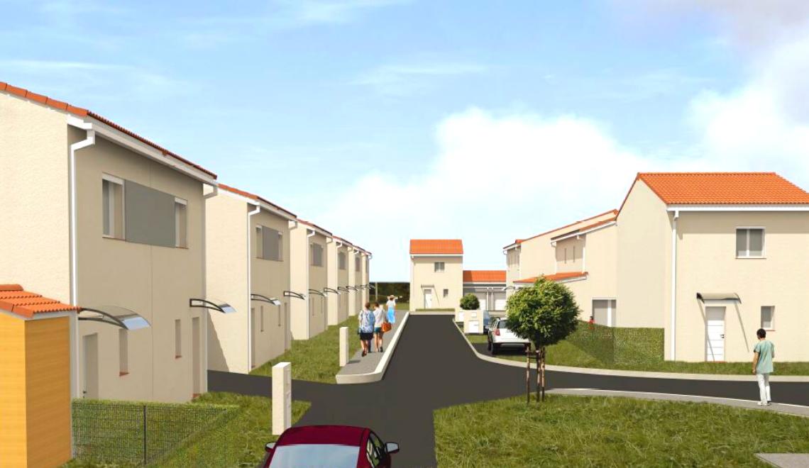 Auterive : lancement des travaux de la résidence neuve «La Briqueterie»