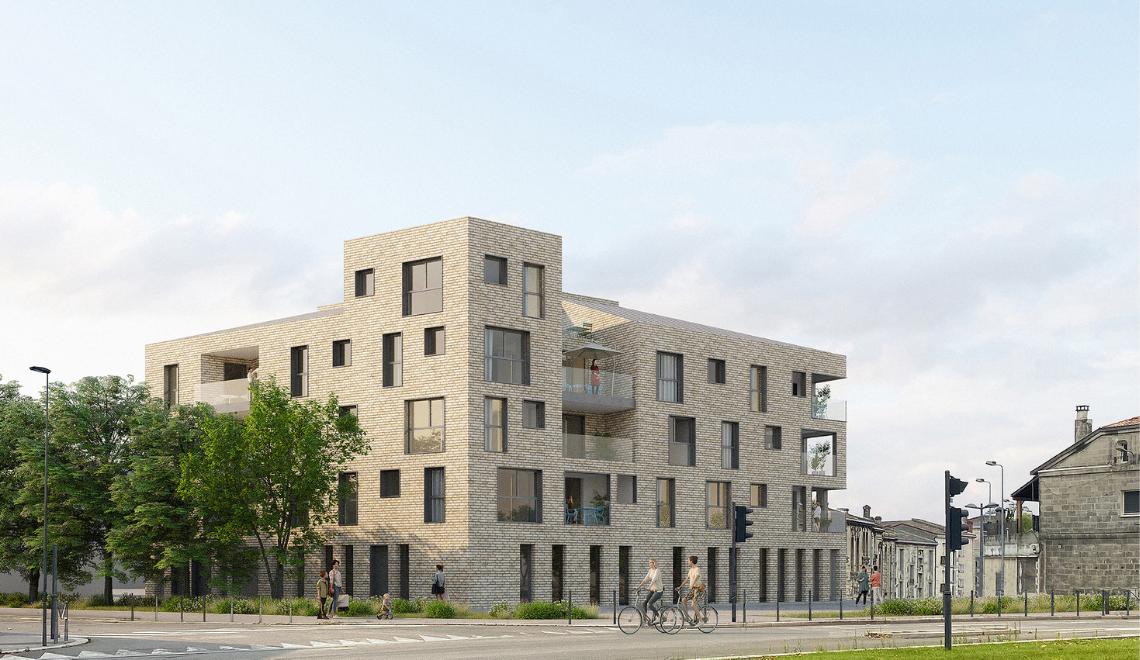 Bordeaux : lancement de la résidence «BRICKLANE» dans le quartier Bastide