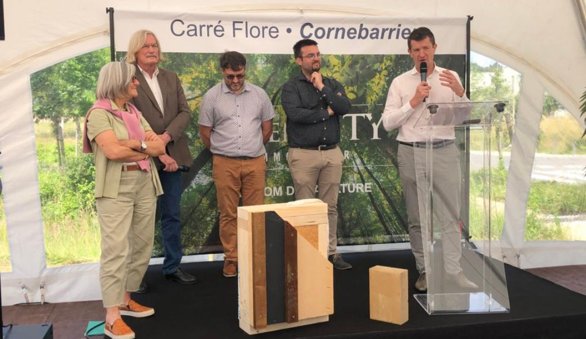 Avec Carré Flore, GREEN CITY imagine de nouveaux standards de constructions plus respectueux de la nature