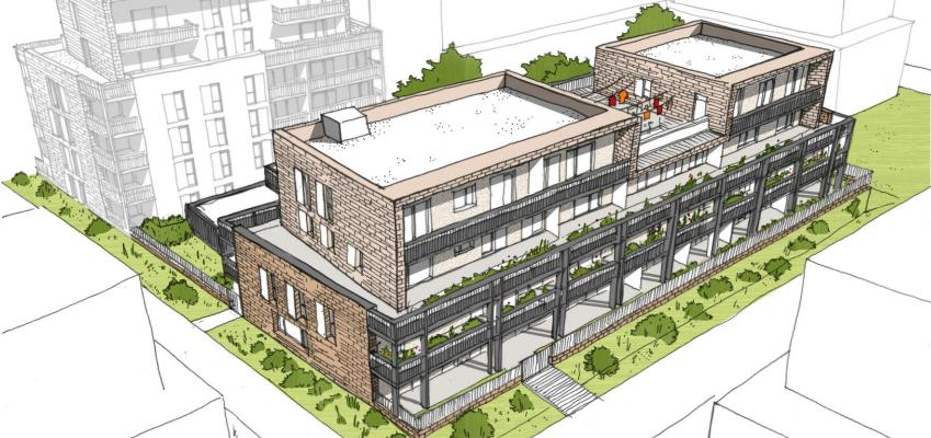 Une nouvelle résidence en habitat participatif va voir le jour au sein du futur quartier Guillaumet à Toulouse